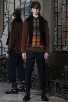 Iceberg Fall-Winter 2015/16 Menswear Collection | Milano Fashion Week -  - Read full story here: http://www.fashiontimes.it/galleria/iceberg-fall-winter-201516-menswear-collection-milano-fashion-week/