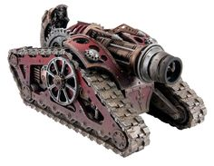 Grudgingly Read: New Mechanicum Tank variant; The Krios Venator