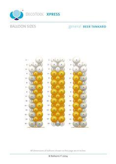 Proyecto globos / beer/ fiesta/ cerveza Balloon Show, Balloon Frame, Balloon Stands, Balloon Wall, The Balloon, Ballon Column, Ballon Arch, Deco St Patrick, Balloons Galore