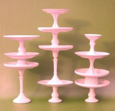DIY pedestals - have a baby shower - wedding shower a fun party coming up - A MUST DO!!