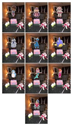 Doc McStuffins Birthday Party Centerpieces