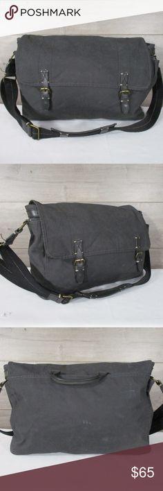 4468b68f6d I just added this listing on Poshmark  J.Crew Factory Wax Canvas Leather Messenger  Bag.  shopmycloset  poshmark  fashion  shopping  style  forsale  J. Crew ...