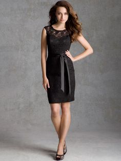 2014 Style Sheath/Column Scoop Lace Party Dresses #GC930