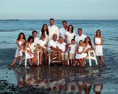 beach pictures of families | People who dress the same in family portraits!