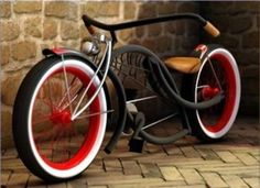 My favorite custom bicycle! Cruiser Bicycle, Motorized Bicycle, Cool Bicycles, Cool Bikes, Lowrider Bicycle, Bicycle Store, Power Bike, Chopper Bike, Bike Art