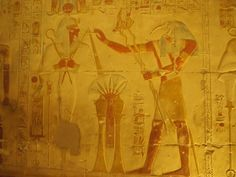 Seti y Thot Temple, Chapelle, Thor, Painting, Art, The Cult, Egyptian, Viajes, January