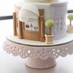 French patisserie 🍧🍬🍰 #mutludukkan #sekerhamuru #butikpasta #sugarart Crazy Cakes, Fancy Cakes, Pretty Cakes, Cute Cakes, Parisian Cake, Architecture Cake, Building Cake, Bolo Paris, Paris Cakes
