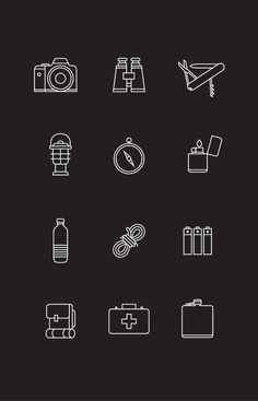 These are some pretty nifty icons. Nice and clean while still being able to get recognized by the user for what they mean. The only thing I would've changed as opposed to them being just oulines, maybe have some solid colors inside the images just to help fill it out a bit more and make it look a little less iOS7-ish.