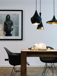 wood MCM lamp Eames Molded Plastic Armchair dining art  Japanese Trash masculine design obsession inspiration