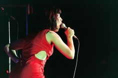 little-trouble-grrrl: Bikini Kill during Rock for Choice 1993 at The Palladium in Hollywood Kathleen Hanna, Bikini Kill, In Hollywood, Punk Rock, Feminism, Rebel, Musicians, Bands, Punk Art