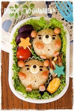 Bear onigiri