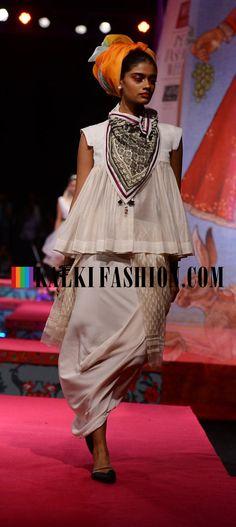 Models showcasing Tarun Tahiliani's collection at Wills Lifestyle Fashion Week http://www.kalkifashion.com/designers/tarun-tahiliani.html