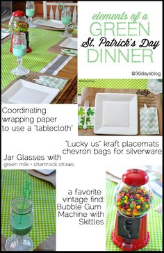 Host a St. Patrick's Day Dinner from www.thirtyhandmadedays.com