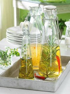 Herbal Oil Infusion