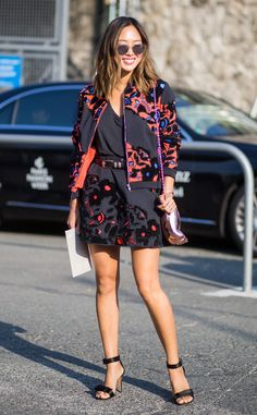 Aimee Song from Street Style at Paris Fashion Week Spring 2016   E! Online