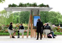 Mobiliario urbano en Paris                                                                                                                                                                                 Más