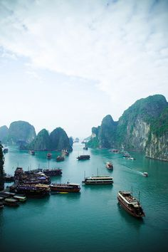 Ha Long Bay by olla.esmeralda, via Flickr
