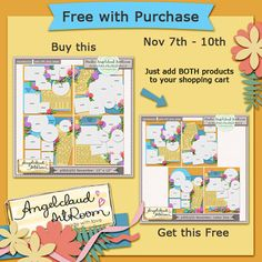 p365/p52 November Template and FWP by @Gail Mounier Angelclaud ArtRoom ArtRoom! There is the p365 Template 12″x12″ and the p365 Template Pack 8.5″x11″ size.  From 11/07-1110 buy the 12″x12″ size and get the 8.5″x11 size for free! Add both products to the shopping cart and the total price will reflect the price for 12″x12″ Template only. p365/p52 November Template 12x12; http://shop.scrapbookgraphics.com/acart-p365novtemp12x12.html. 08/11/2013
