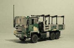 The ATLAS is the new primary medium utility transport truck for the NDC ground forces - and the most common ATLAS 600 configuration in NDC service. Lego Baby, Command And Conquer, Lego Builder, Lego Vehicles, Small Campers, Space Center, Cool Lego Creations, Lego Technic, Bricks