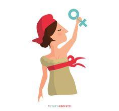 """Día internacional de la mujer.: Por todas aquellas mujeres, valientes y anónimas, que viven, luchan y caminan para que algún día no necesitemos un """"8 de marzo""""."""