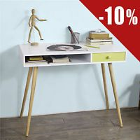 Details About Clic Gl Top Computer Pc Laptop Desk Home Office Study Table With Drawer