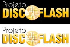 Logo Projeto Disco Flash - Elaborado por Cassibox Design