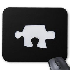 Puzzle piece mousepad