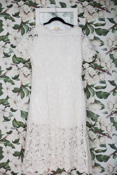 White Lace Dress You