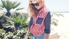 Flag It: Patriotic Clothing For BBQs, Fireworks, and Summer Romance
