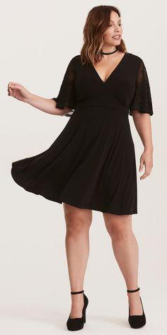 9ea136c9fb89e 21 Plus Size Black Dresses with Sleeves - Plus Size Party Dresses ...
