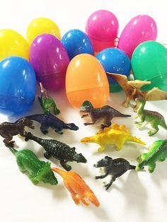 12 Dinosaur Easter Eggs - Great for basket or egg hunt