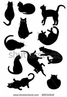 black cat by Alexandra Golubenko, via ShutterStock