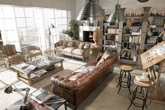 1000 images about urban country decor on pinterest for Il loft arredamenti