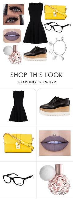 """taeyoon#oxford_series"" by taeyoon on Polyvore featuring Proenza Schouler, STELLA McCARTNEY, Dolce&Gabbana, Jeffree Star, Ray-Ban and Love This Life"