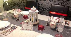 Ideas Scrapbooking, Navidad Diy, Table Decorations, Home Decor, Easy Crafts, Card Tutorials, Christmas Tabletop, Greeting Cards, Decoration Home