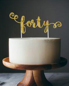 Escrita em cima do bolo