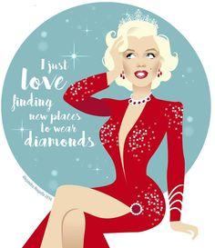 Marilyn Monroe art by Alejandro Marilyn Monroe Kunst, Estilo Marilyn Monroe, Marilyn Monroe And Audrey Hepburn, Marilyn Monroe Artwork, Marilyn Monroe Quotes, La Reproduction, Gentlemen Prefer Blondes, Picture Logo, Norma Jeane