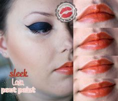 Sleek pout paint LAVA - Greatdee Blog - Thank God I'm a Woman