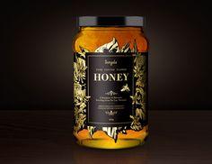 Jangala Honey by Scott Lambert, via Behance