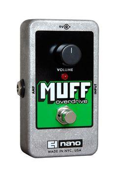 Electro Harmonix Muff Overdrive Effect Pedal