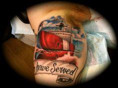 boat tattoo  #JeremiahHanzey #Stainedskinsecondskin