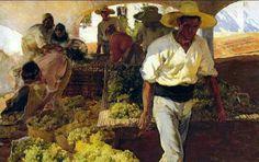 Joaquín Sorolla - Transportando la uva 1900
