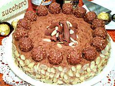 Tort ferrero Rocher Ferrero Rocher, Tiramisu, Ethnic Recipes, Food, Eten, Tiramisu Cake, Meals, Diet