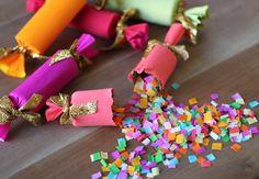 DIY Confetti Party Poppers // HonestlyYUM