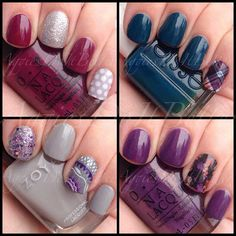 Jamberry Nail wraps as accents by aggies do it better