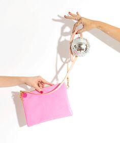 Ban.do Flip Side Clutch - Perfect Pink + Blush!