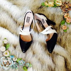 Black And White Pumps 6.5
