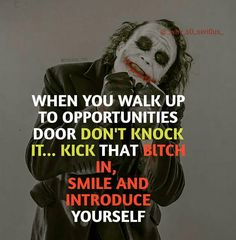 New fitness quotes wallpaper posts ideas Heath Ledger Joker Quotes, Best Joker Quotes, Joker Heath, Badass Quotes, Best Quotes, Smile Quotes, Attitude Quotes, True Quotes, Motivational Quotes