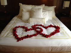 hearts made as a bed - How very sweet