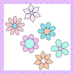 Patchwork moldes flores para patch aplique